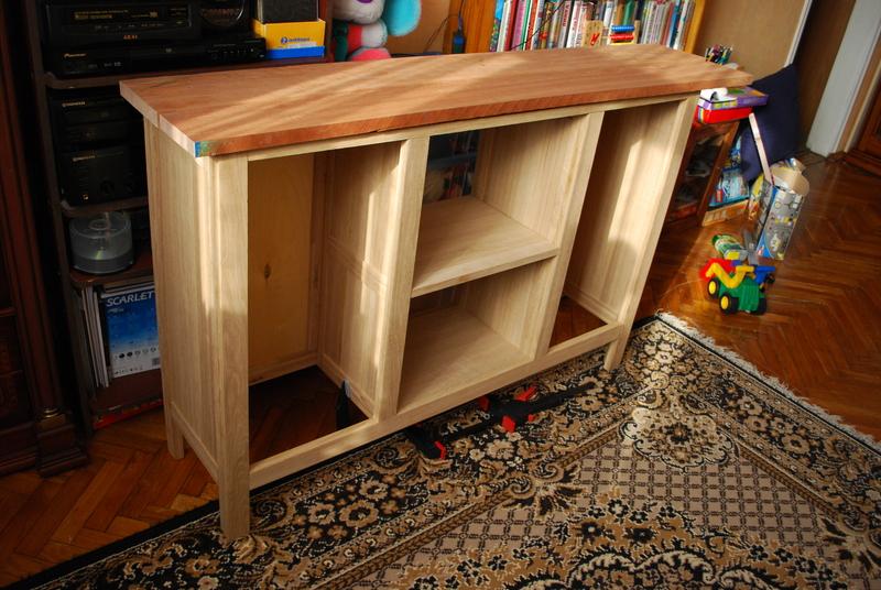 Кухонная мебель из бруса